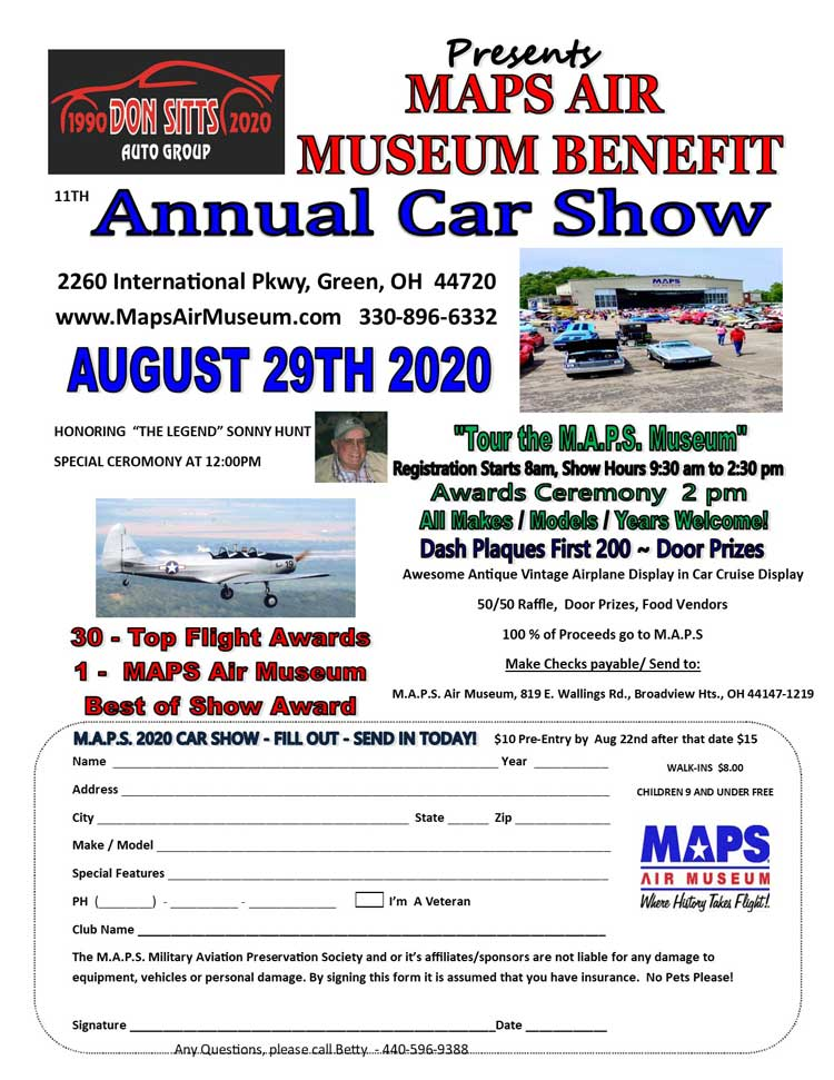 Maps Air Museum Benefit
